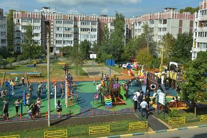 Власти Подмосковья подвели итоги программы благоустройства дворов