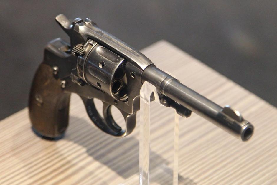 Револьвер системы Нагана (наган)