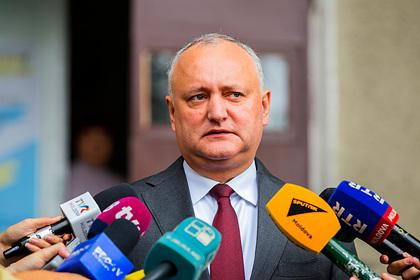Президент Молдавии объявил о начале нового политического кризиса