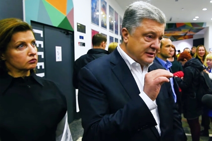 Порошенко со слезами на глазах уверовал в украинский Крым