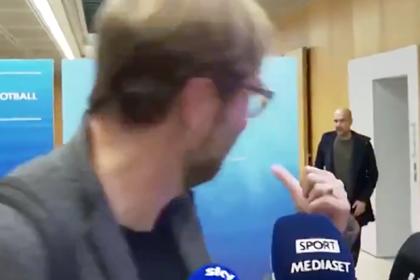Выходка Клоппа перед появлением Гвардиолы рассмешила фанатов