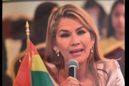 Сенатор Аньес объявила себя временным президентом Боливии