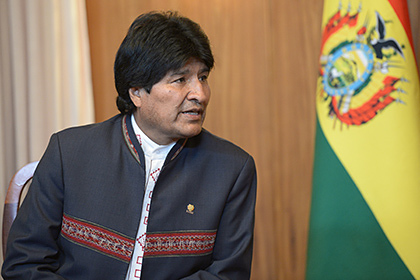 Производители коки заступились за сбежавшего президента Боливии