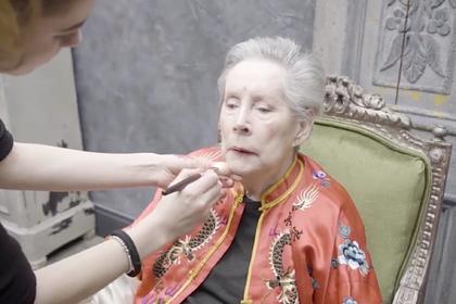 Фотограф восхитился 85-летней бывшей моделью и помог ей вспомнить молодость