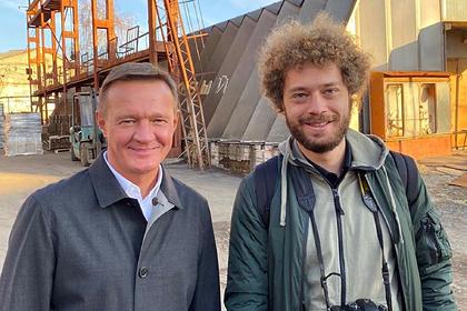 Курский губернатор встретился с блогером и обсудил благоустройство