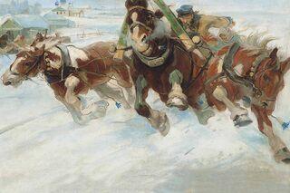 Николай Богданов-Бельский «Будущий инок», 1889 год