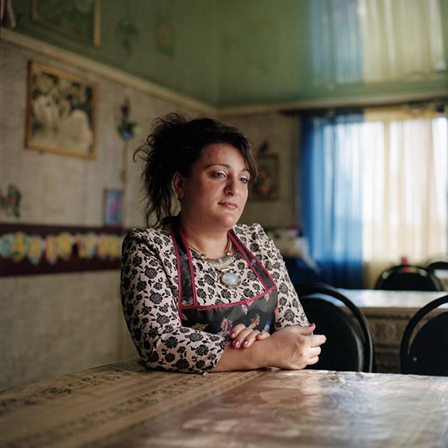 Марина, владелица кафе «Очаг»
