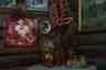 Валентина, супруга Сергея, вышивает картины крестиком. Часть полотен украшают стены заведения, а другую — она продает посетителям кафе. Также в «Ралли» можно купить домашние соленья.