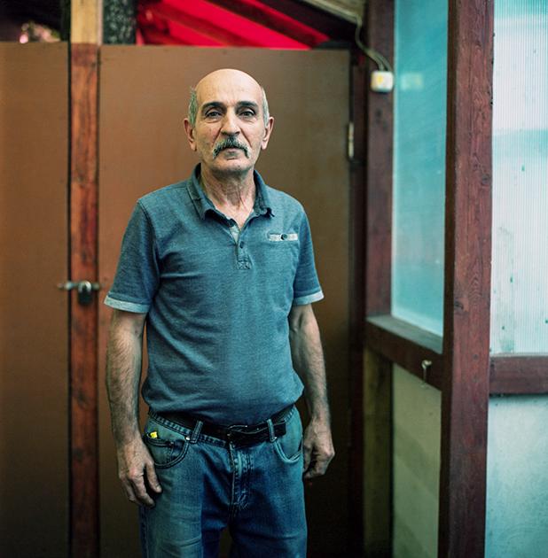 Александр, владелец кафе «Арарат»