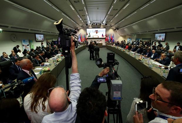 Заседание по поводу продления сделки ОПЕК+, Вена, 2 июля 2019 года