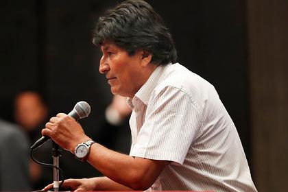 Беглый Моралес захотел вернуться в Боливию