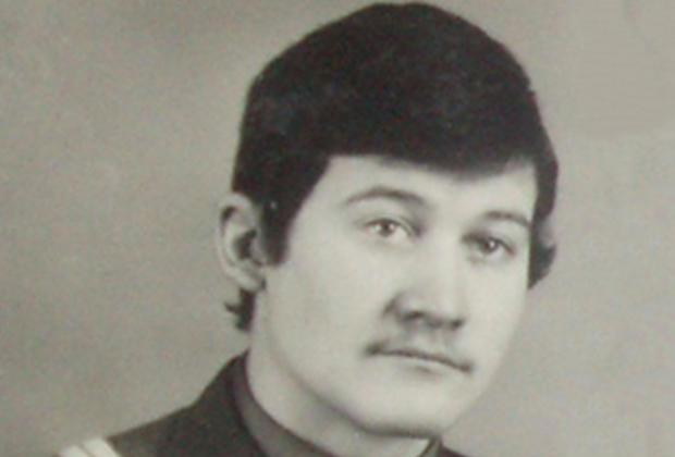 Сергей Ткач в молодости