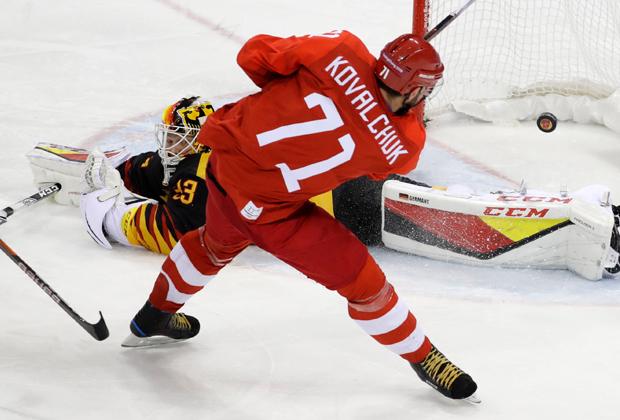 Олимпийские игры-2018 в Пхенчхане. Илья Ковальчук (номер 71)