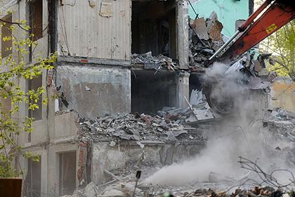 В России захотели по-новому расселять аварийные дома