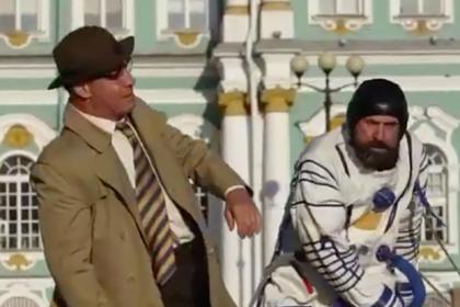 Лидер Rammstein устроил драку в центре Петербурга под песню «Калинка моя»
