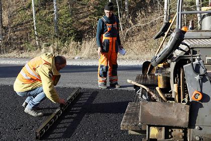 В Мурманской области отремонтировали вдвое больше дорог