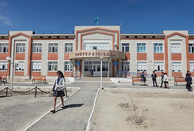 Школа на юго-западе Казахстана
