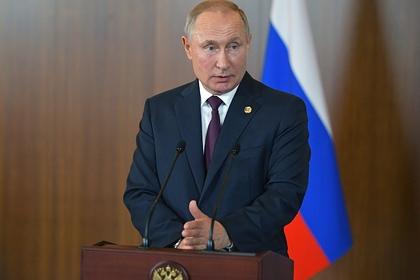 Путин оценил предложение встретиться с Зеленским в Казахстане