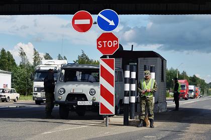 Белоруссия закроет один из участков границы