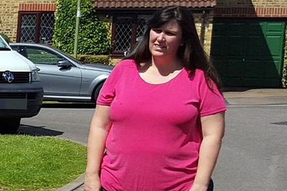 Женщина сбросила 40 килограммов после унизительного предположения официантки