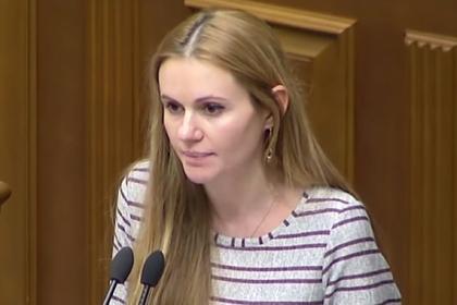 Исключенная из партии Зеленского депутат рассказала об угрозах от руководства