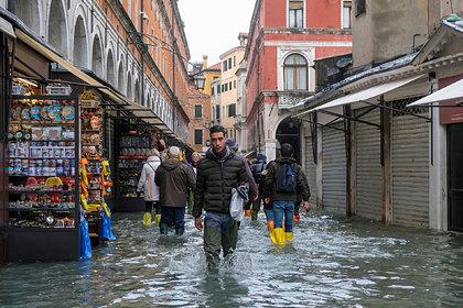 Оценены разрушения Венеции