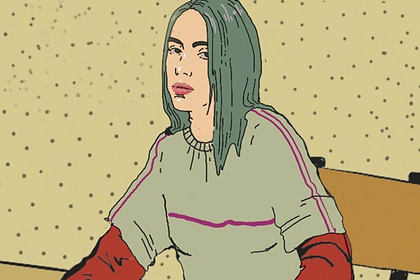 Певицу Билли Айлиш обнаружили в православном комиксе о таинстве крещения