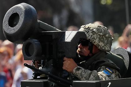 В США рассказали о Javelin из бревен и соломы в Донбассе