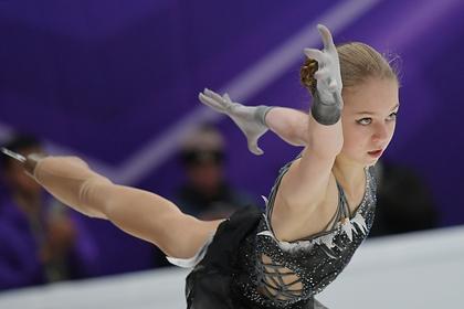 15-летняя Трусова обогнала Медведеву и выиграла этап Гран-при в Москве