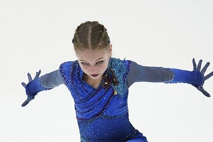 15-летняя Трусова оценила победу над Медведевой на Гран-при в Москве