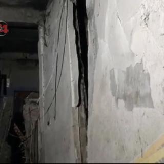 Обрушившееся здание в Уссурийске