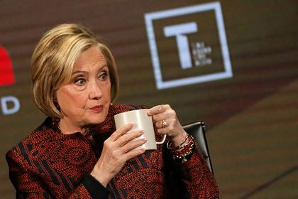 Самолет с Хиллари Клинтон задымился