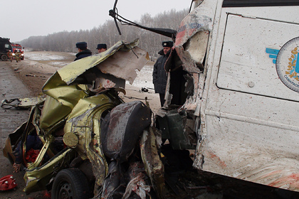 Высокую смертность на российских дорогах связали с их протяженностью