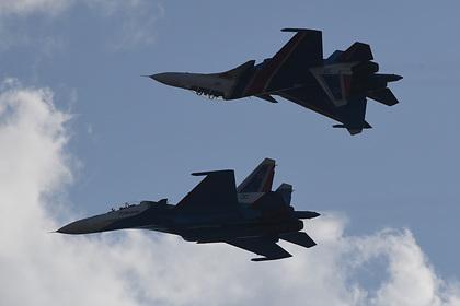 Россия поставила Белоруссии Су-30СМ с французским оборудованием