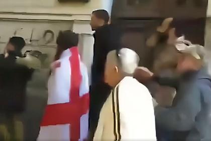 Разгон протестов возле парламента Грузии сняли на видео