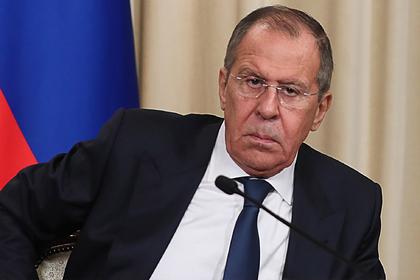 Лавров призвал Германию и Францию повлиять на Украину