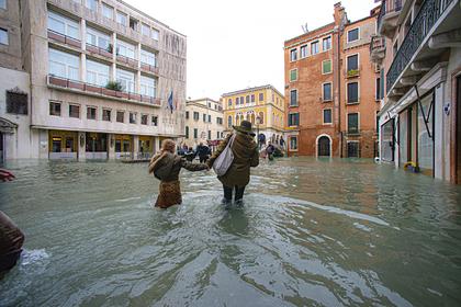 Затопленные улицы Венеции