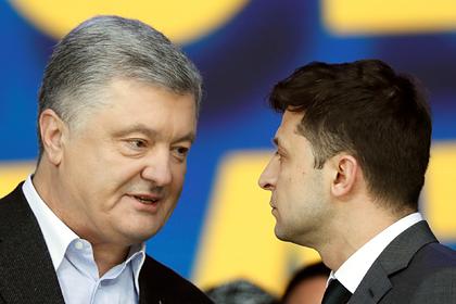 На Украине сравнили Зеленского и Порошенко