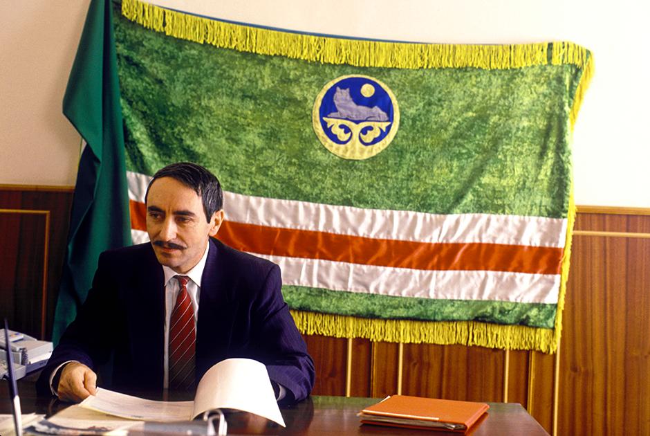 Джохар Дудаев, 1992 год