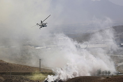 Вертолет с американскими военными потерпел крушение в Афганистане
