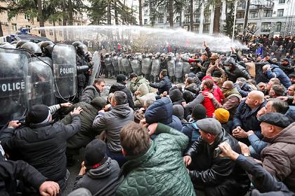 Грузинская оппозиция заявила об отсутствии «руки Москвы» в протестах
