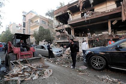 От авиаудара Израиля по Дамаску погибли гражданские