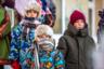 Несмотря на мороз минус 30 градусов, на улицах Дудинки и Норильска в дни этнофестиваля было полно детей. Рожденные на Таймыре мальчишки и девчонки, как оказалось, гораздо легче переносят холода, чем взрослые гости с материка.