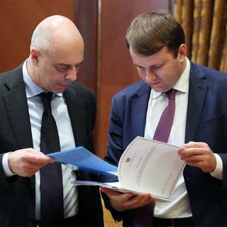 Антон Силуанов и Максим Орешкин