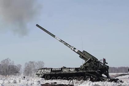 Россия показала испытания «Бога войны»