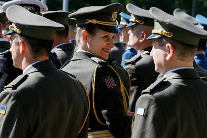 Украинских военных заставят учить английский язык