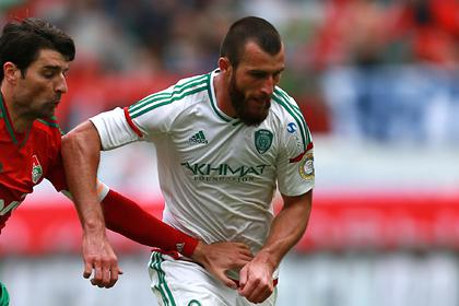 Российский футболист исчез