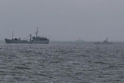 Лишенные туалетов украинские корабли начали прибывать в Очаков