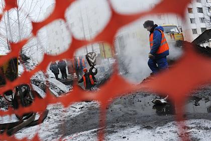 Российский город остался в мороз без отопления из-за аварии