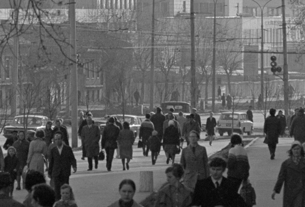 Пермь, улица Ленина, 1973 год